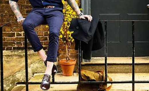 Clarks  Stanway皮鞋:柔軟優質小牛皮,英倫外形帥氣逼人