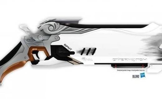 死神的武器:暴雪X孩之宝推出守望先锋玩具枪