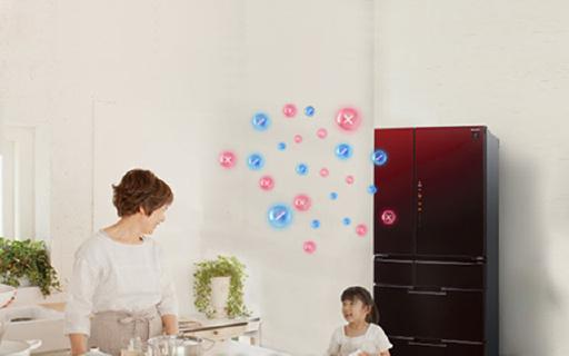 保鮮能力超強的夏普冰箱,凈離子群除菌更健康