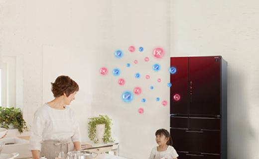 保鲜能力超强的夏普冰箱,净离子群除菌更健康