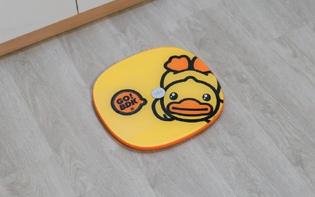 乐心 X B.Duck小黄鸭联名体脂秤S11 比你更了解你