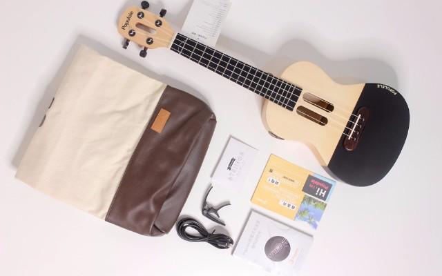 像玩節奏大師一樣學樂器,游戲中get撩妹神技 — Polulele 智能尤克里里上手體驗