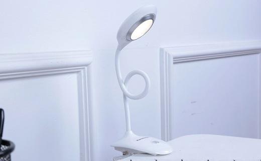 松下 HH-LA0232LED護眼臺燈:無頻閃不傷眼,背夾設計隨心夾放