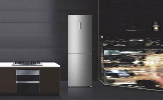 卡萨帝DSA321冰箱: 智能中控三挡变温,环绕式立体风更新鲜