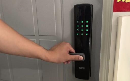 让你的门板更加智能 | SKN M6智能门锁,智能新选择!