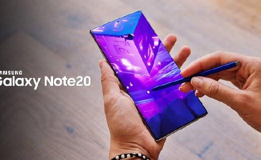 2K+120Hz刷新率!三星Galaxy Note20系列曝光,預計8月5日發布