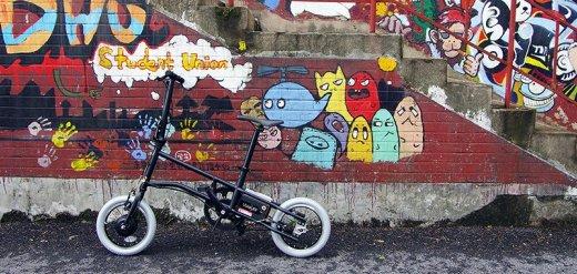 時尚拉風的智慧電單車,騎著省力還能健身
