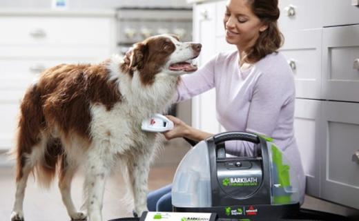 超温和的宠物洗澡器,省水护毛还不会弄脏地面