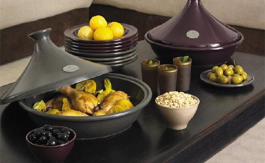 不用水就能烹饪的塔吉锅,轻松做出美味料理