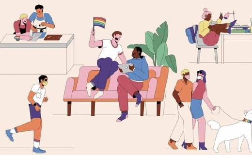 苹果发布2020款Pride Edition表带,并提供Pride表盘