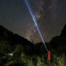 一劍破蒼穹——納麗德L10max白激光手電