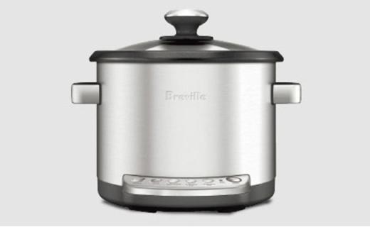 Breville BRC600電煮鍋:燉煮蒸一個搞定,帶有自動保溫
