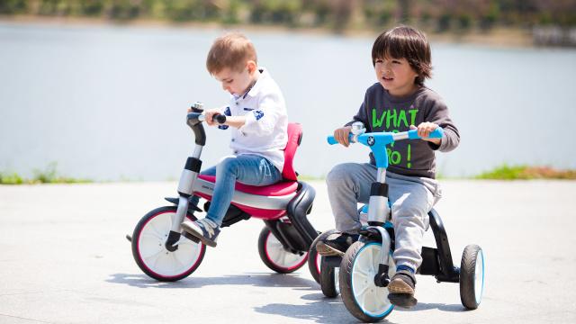 寶馬 三合一折疊兒童三輪車