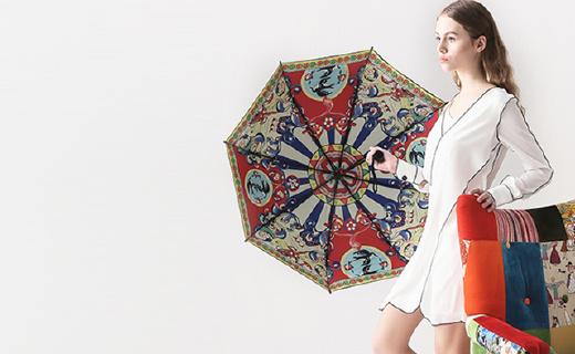 離開你自動警報的智能傘,顏美速干還能照明