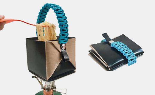 能裝進口袋的戶外折疊鍋,重量比iPhone還輕!