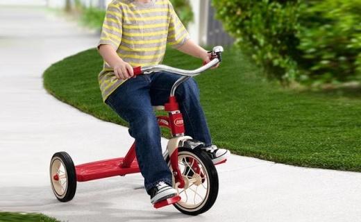 Radio Flyer兒童腳踏車:堅固防傾翻,美國品牌質量杠杠的