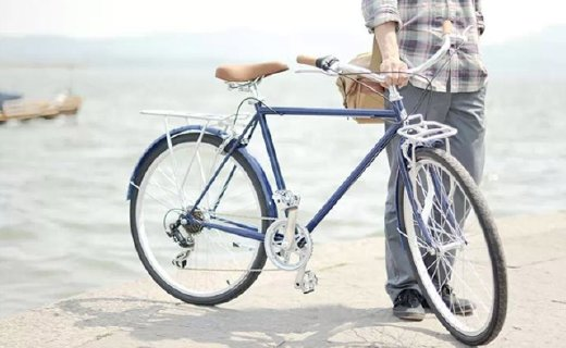 永久復古自行車:304不銹鋼雙折車把,復古車身安全防護