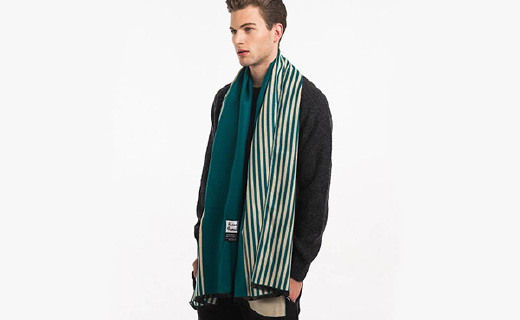 RASENFAMILY針織圍巾:面料柔軟親膚,款式大方時尚