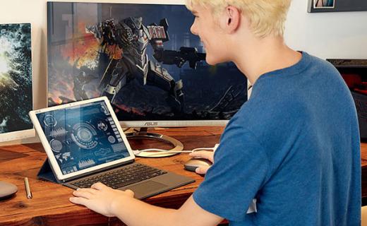 华?#35835;?#28949;3二合一平板电脑:3K屏持久续航,指纹识别背光键盘