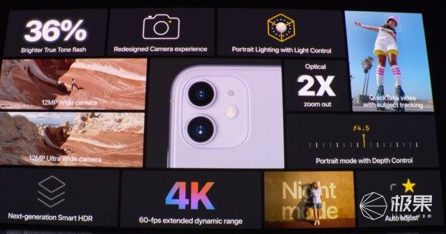 真香機預定?雙攝iPhone11發布,夜景+超廣角都來了!