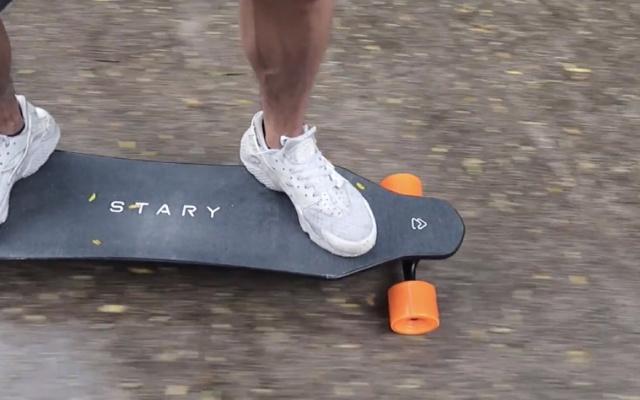 电动滑板也能疾速狂飙?4档可控你可站稳了 | 视频