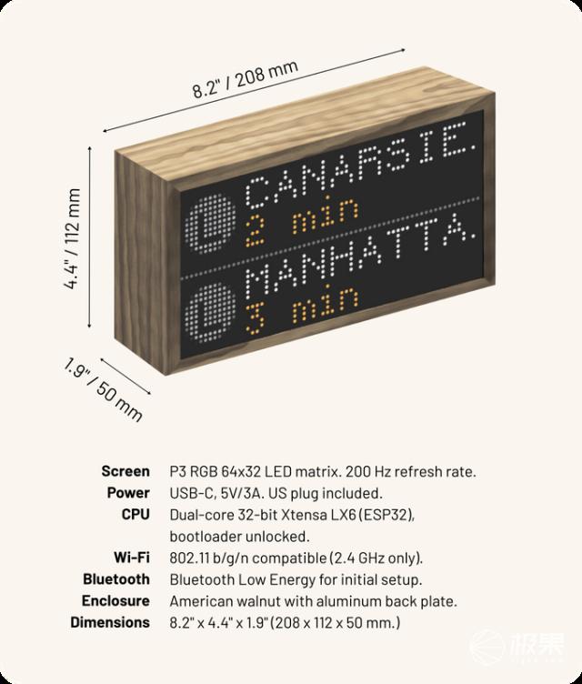 老外做了一个木盒,嵌入2048个LED,竟然卖出了260万元