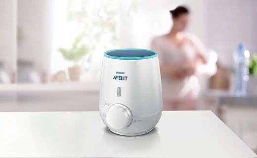 飛利浦新安怡溫奶器:多模式均勻溫奶,母乳影響不被破壞