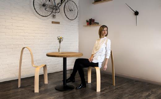"""極簡風座椅,節省材料還能有效預防""""葛優躺"""""""