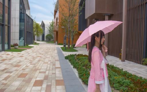 荷葉仿生納米雨傘時尚輕便,讓妹子愛不釋手 — 小妹優品納米疏水玲瓏傘測評