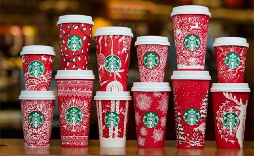星巴克圣誕星杯,寒冷冬天里的童話故事