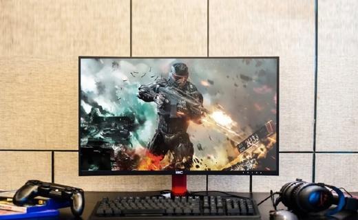 HKC G27显示器:27英寸曲面大屏,高刷新?#35270;?#25103;无拖影