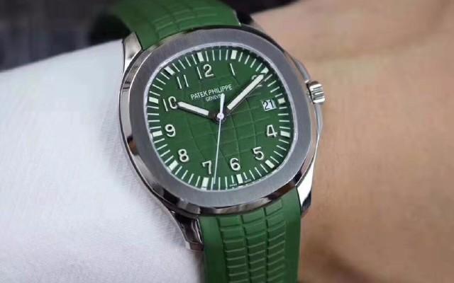 ZF百达翡丽绿手雷腕表、运动表的颜值担当