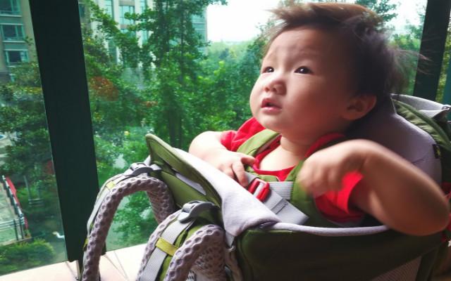曬個遛娃神器,帶娃爬山不是夢,OSPREY 珀蔻 嬰兒背架體驗