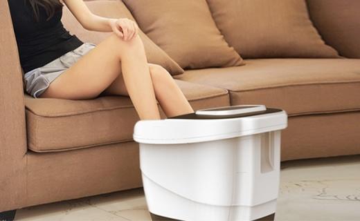 蓓慈BZ501C足浴盆:5种按摩程序,指压浮动按摩堪比人手