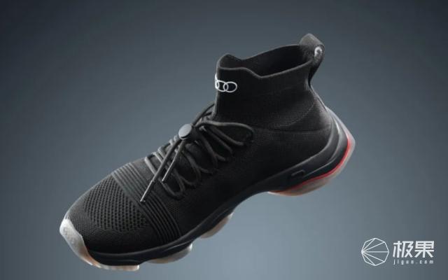 奥迪造潮鞋「一脚蹬」!四驱技术都用上了…酷爆了