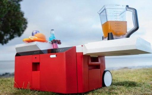 工具箱、冰箱、扬声器三合一,超便携冰箱搞定夏日狂欢趴体!