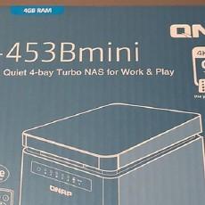 我的NAS 篇一:QNAP TS-453Bmini 开箱