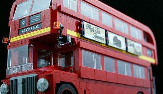 樂高倫敦巴士:造型經典拉風,頗具收藏價值
