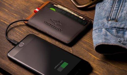 集黑科技于一身的智能钱包,防盗窃还能无线充电,售价770元起