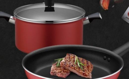 拉歌蒂尼鍋具套裝:不沾少油煙,意大利進口鍋具