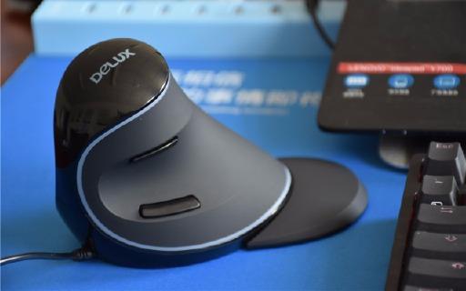 这鼠标造型奇葩,游戏办公却不伤手腕 — 多彩垂直鼠标评测