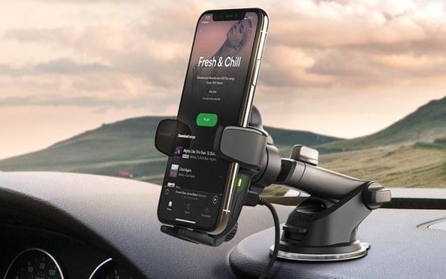 iOttie 自動感應無線充電吸盤式支架