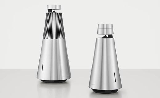 B&O新品無線音箱,超高顏值,360度發聲