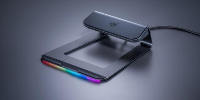 「新東西」雷蛇推出幻彩筆記本支架,配備USB 3.0接口,支持RGB燈效