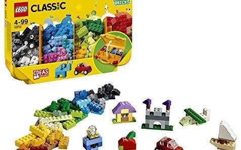 乐高 Classic创意手提箱:经典创意多重玩法,自由?#21019;?#21551;蒙创意