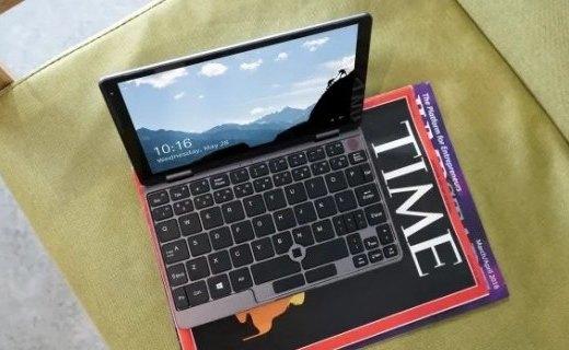 「新東西」8寸觸屏Win10本,馳為迷你筆記本MiniBook開啟眾籌