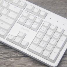 全鍵無沖,簡約時尚:雷柏MT710辦公背光機械鍵盤