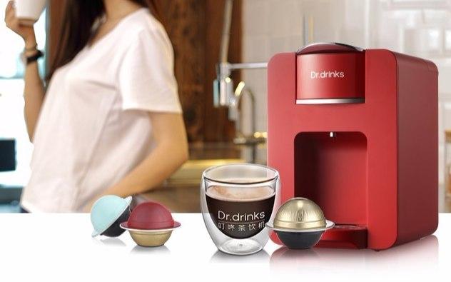 Dr.drinks 叮咚茶飲機膠囊咖啡機