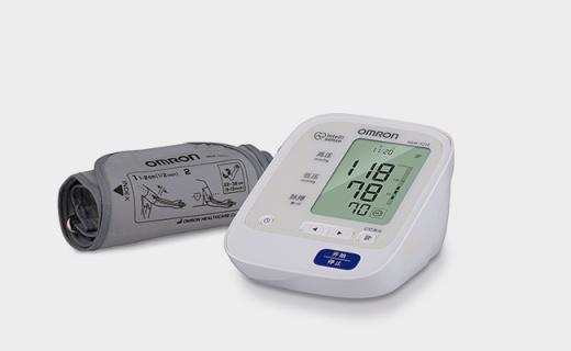 歐姆龍HEM-7210血壓計:智能加壓測量準確,可監測脈搏心率