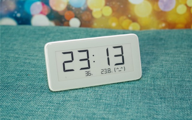 米家温湿监测电子表上市,小身材多功能,又一款生活爆品
